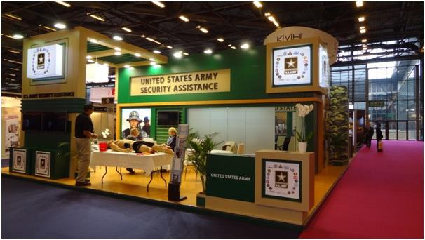 Trade Show Booth at Eurosatory 2016