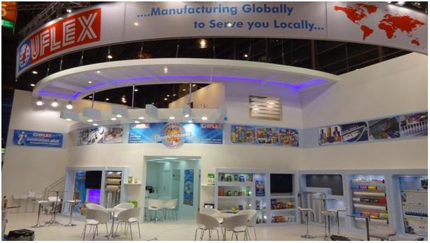 Uflex Trade Show Booth