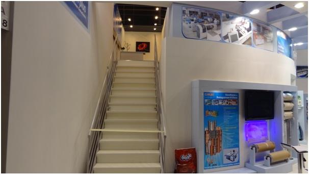 Uflex Trade Show Stand Design at Drupa