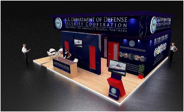 exhibit stand