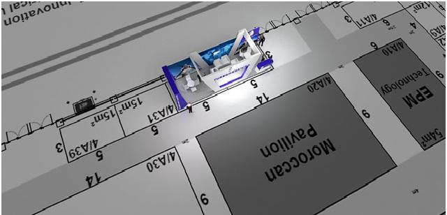 Turbomecanica SA Custom Exhibition Stand Design